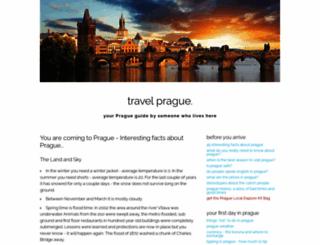 pragueczechtravel.com screenshot