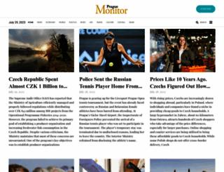 praguemonitor.com screenshot