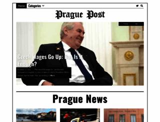 praguepost.com screenshot