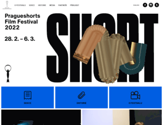 pragueshorts.com screenshot