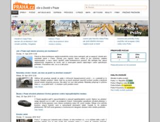 praha.cz screenshot