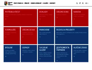 praha10.cz screenshot