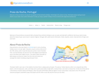 praiadarochauncovered.com screenshot