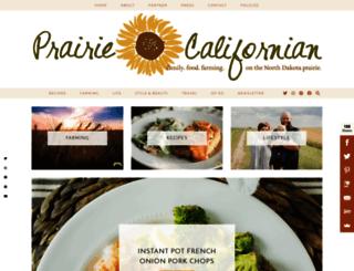 prairiecalifornian.com screenshot