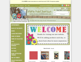 prairiepointjunction.com screenshot