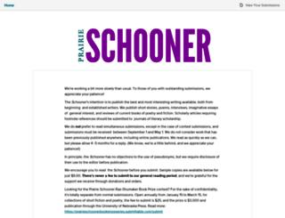 prairieschooner.submittable.com screenshot