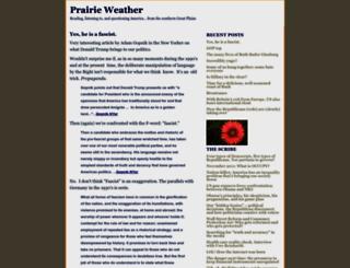 prairieweather.typepad.com screenshot