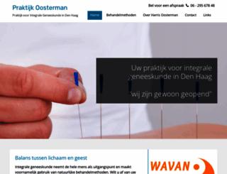 praktijkoosterman.nl screenshot