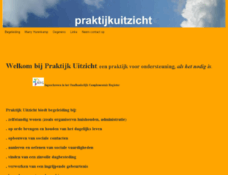 praktijkuitzicht.nl screenshot