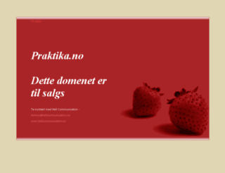 praktika.no screenshot