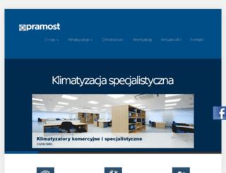 pramost.pl screenshot