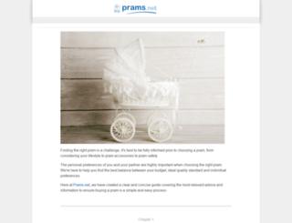 prams.net screenshot