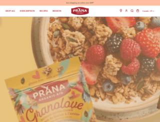 prana.bio screenshot