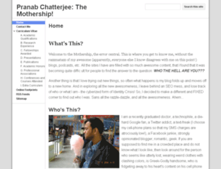 pranab.in screenshot