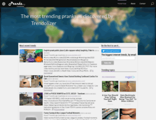 pranks.trendolizer.com screenshot