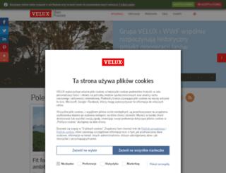 prasa.velux.pl screenshot