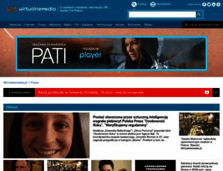 prasa.wirtualnemedia.pl screenshot