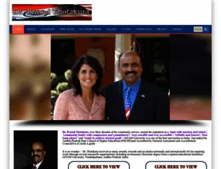 prasadthotakura.com screenshot
