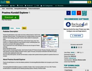 prashna-kundali-explorer.soft112.com screenshot