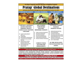 pratapglobaldestinations.com screenshot