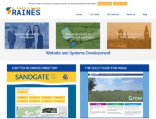 praterraines.co.uk screenshot