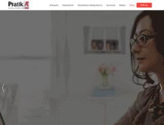 pratikajans.com.tr screenshot