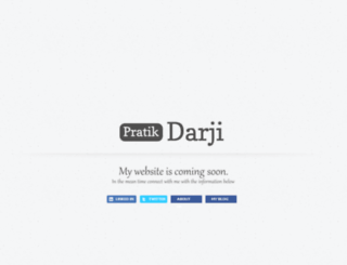 pratikdarji.info screenshot