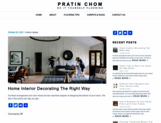 pratinchom.com screenshot