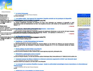 pratiquesphilo.free.fr screenshot