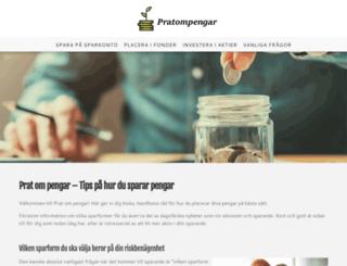 pratompengar.se screenshot