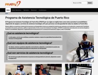pratp.upr.edu screenshot