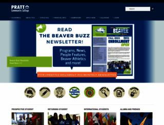 prattcc.edu screenshot