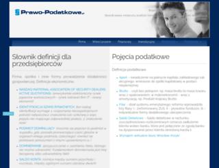 prawo-podatkowe.pl screenshot