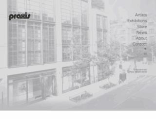 praxis-art.com screenshot