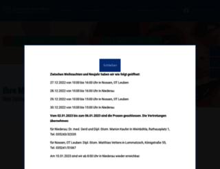 praxis-dr-schwitzky.de screenshot