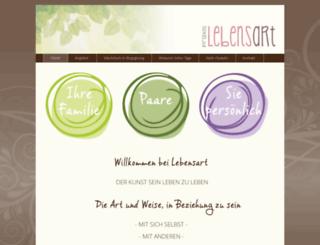 praxis-lebensart.ch screenshot