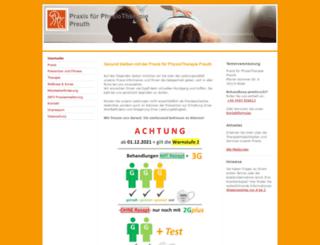 praxis-preuth.de screenshot