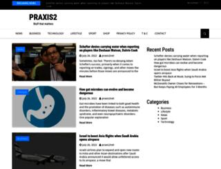 praxis2.net screenshot
