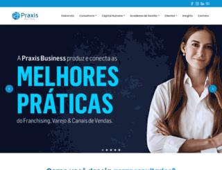 praxisbusiness.com.br screenshot