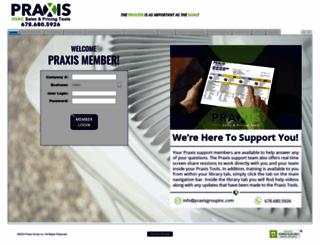 praxishvactoolbox.com screenshot