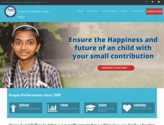 prayassws.com screenshot