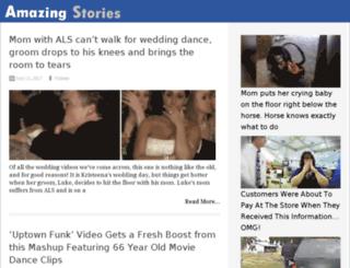 prayer.amazing-stories.tv screenshot