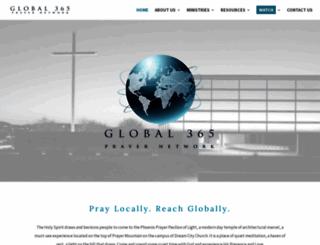 prayerpavilion.org screenshot