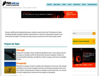 prayers-for-special-help.com screenshot