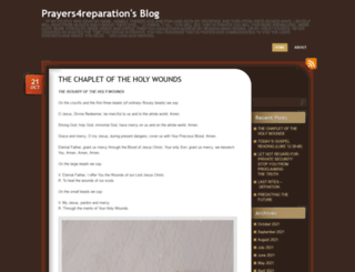 prayers4reparation.wordpress.com screenshot