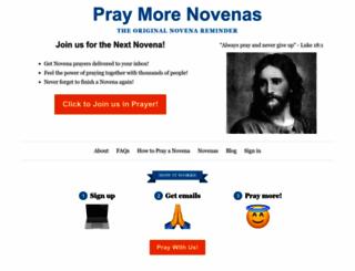 praymorenovenas.com screenshot
