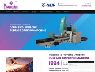 prayoshaenterprise.com screenshot