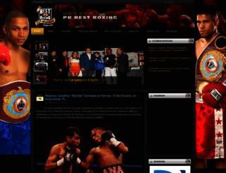 prbestboxing.net screenshot