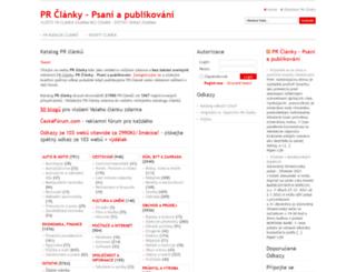 prclanky.czsurf.cz screenshot