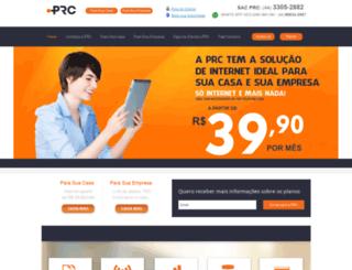 prcomunicacao.com.br screenshot